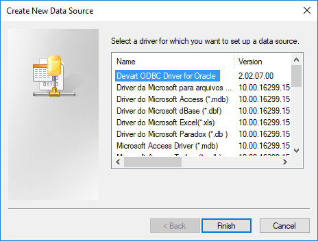 Devart ODBC Driver for Oracle