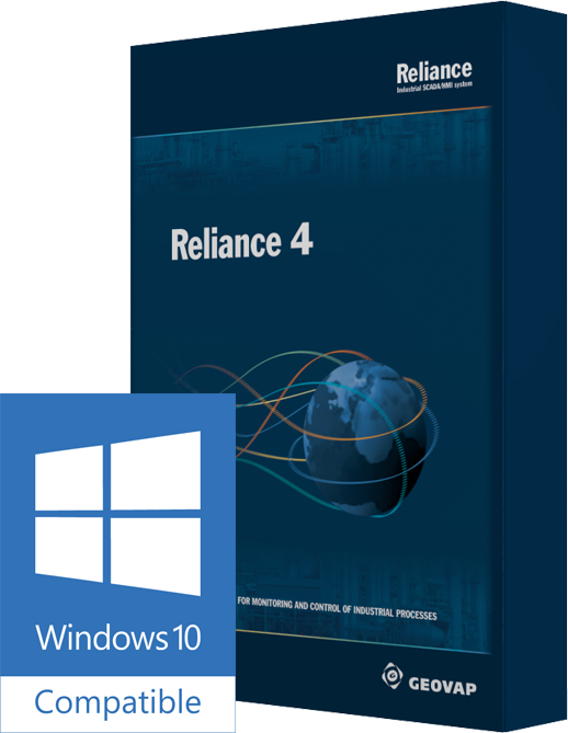 Reliance SCADA is compatible with Windows 10