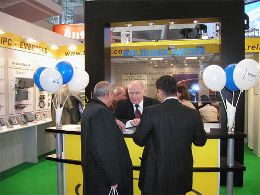 GEOVAP's booth at Hannover Messe 2005