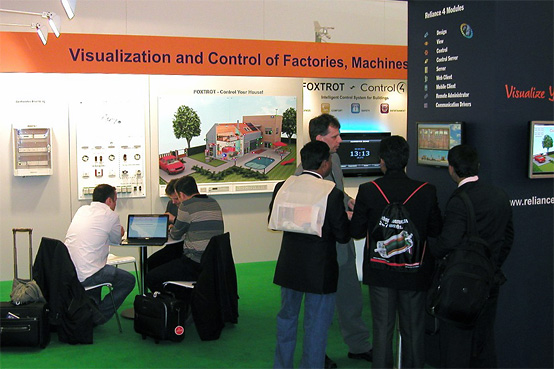 Our stand at Hannover Messe 2011