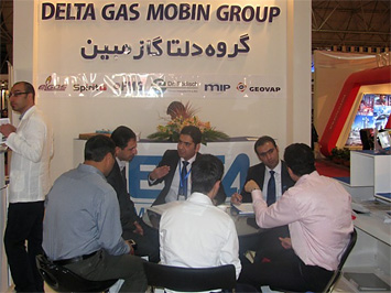 Delta Gas Mobin Group booth