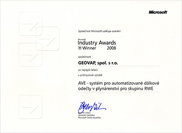 Microsoft Industry Awards 2008