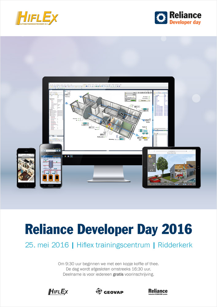 Reliance Developer Day 2016, plakát