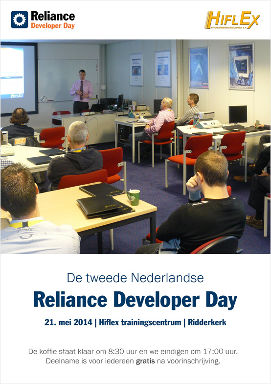 Reliance Developer Day, invitation card