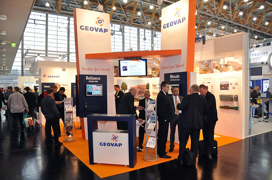 GEOVAP's stand at SPS IPC Drives 2012