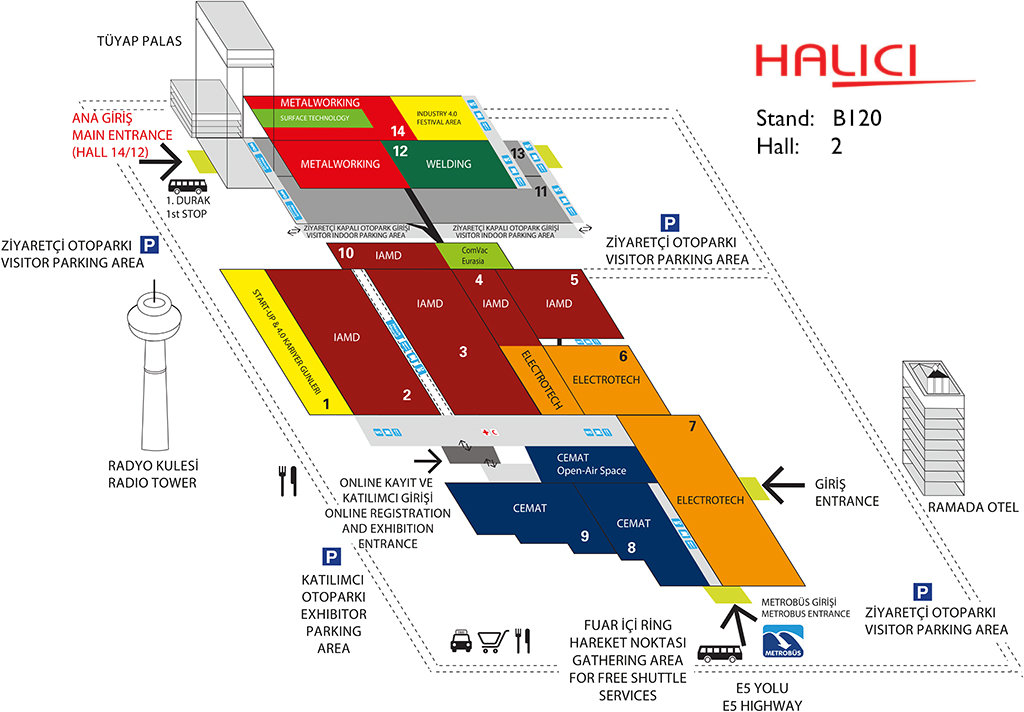 WIN EURASIA 2018 – fairground plan