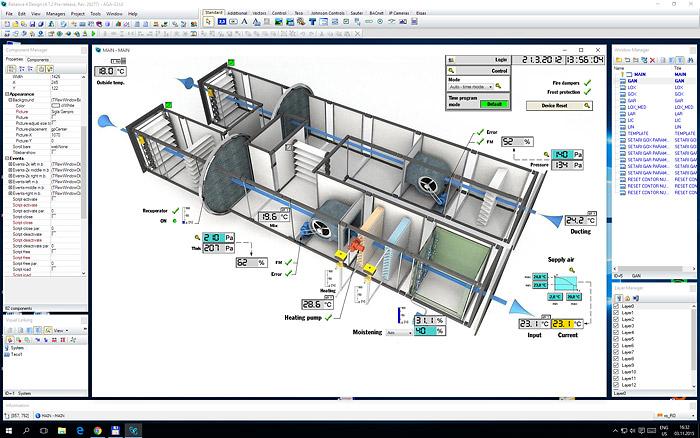 Reliance – Industrial SCADA/HMI system