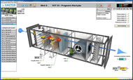 Reliance 4 Web Client – visualization of HVAC