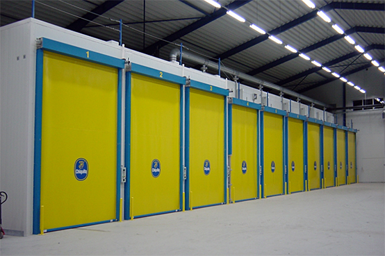 Chiquita Sweden's ripening rooms