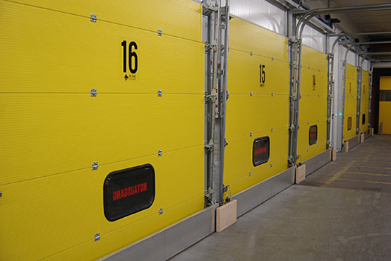 Migros's ripening rooms