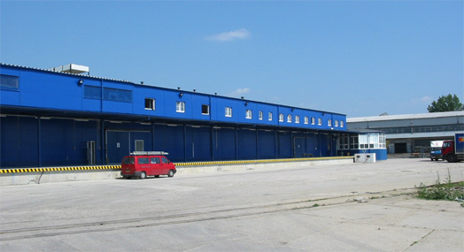The warehouse where the SCADA-based control system was installed