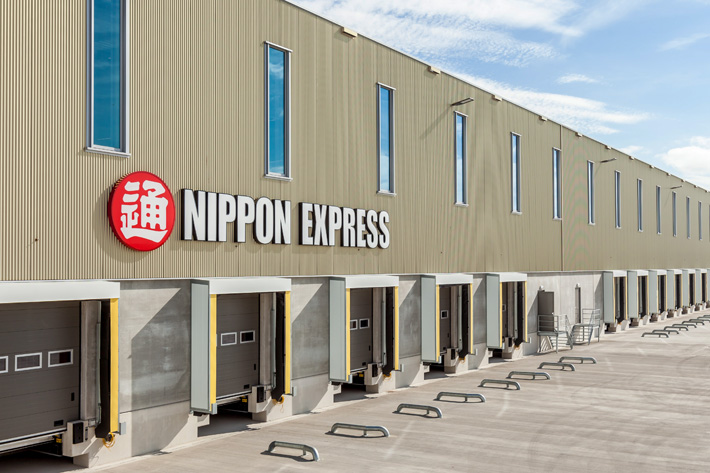 Nippon Express's production plant, Rotterdam