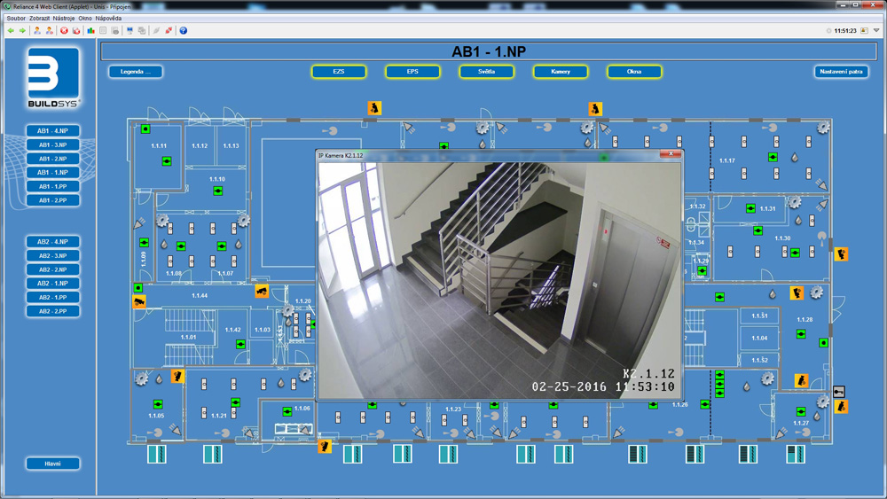 Camera surveillance, Reliance SCADA