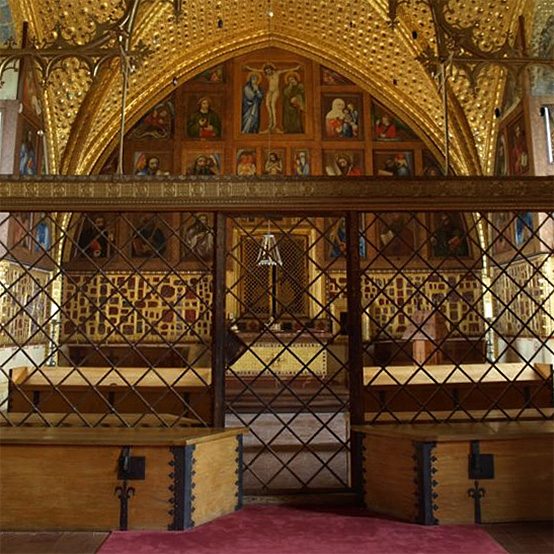 The picture gallery of Master Theodoric in the Chapel of the Holy Cross