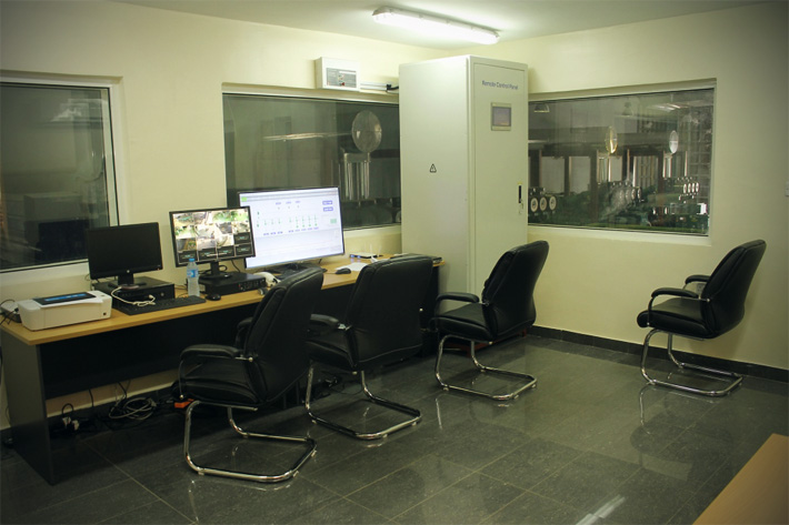 Control room, illustrative image
