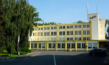 Kofola production plant in Krnov, Czech Republic