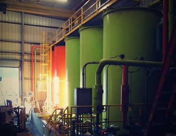 Process oil tanks