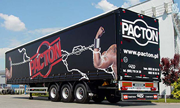 Semi-trailer manufactured by Pacton B.V.