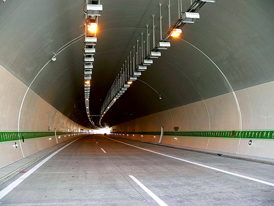 A picture of the Valik tunnel