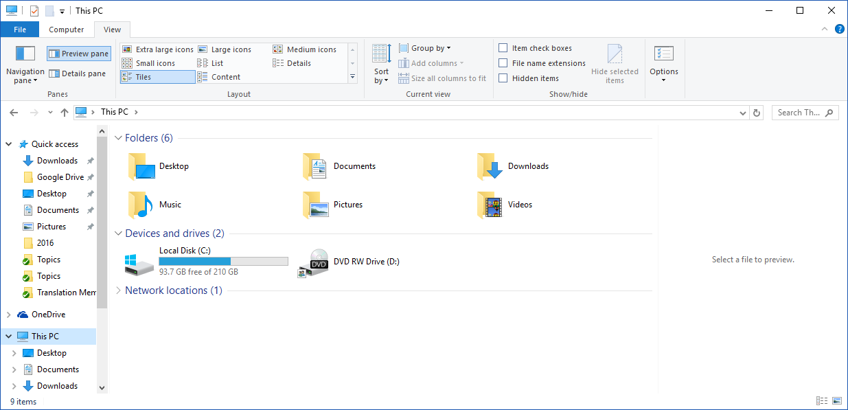 How to access Public Documents in Windows 10