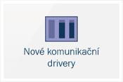 Nové komunikaèní drivery