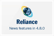 What's new in Reliance 4.8.0
